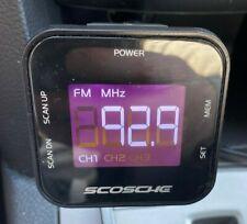 Scosche Tuneit Fm Transmitter W/ Digital Display Fm Stereo Flexible Neck Fmtd3