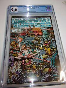 Teenage Mutant Ninja Turtles #5 CGC Graded 9.6 1985 White Pages 1st Printing