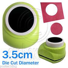 Big Circle Hole Dot Round Paper Scrap Craft Punch Scrapbooking Die Cut 3.5cm New