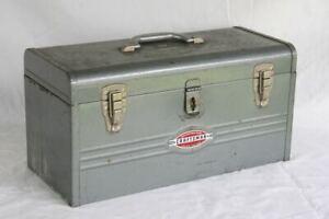 Vintage CRAFTSMAN 6500 Steel Metal Mechanic's Tool Box. Older Model