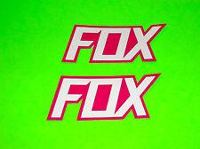 FOX RACING MOTOCROSS  BMX SKATEBOARD WAKEBOARD SNOWBOARD FOX STICKERS DECALS ) (