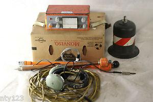 1979 Sewerin Type E3 Leak Detector