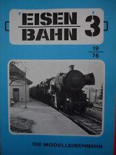 Eisenbahn Die Modelleisenbahn n°3 1976 -- Tr.22