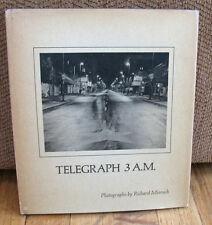Richard Misrach Telegraph 3 AM Berkeley California Duotone Youth 1st Book HC DJ