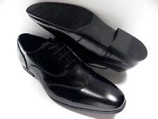 Chaussures ZY noir pour HOMME taille 42 garcon costume de mariage NEUF #2221 #01