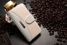 Luxus iPhone 5  CrazyHorse PU Leder Tasche Schutz Hülle  Case Cover Etui