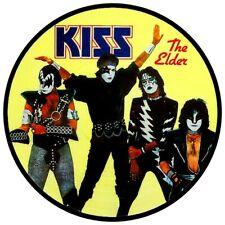 "KISS THE ELDER  HIGH QUALITY VINYL STICKER  100MM ROUND 4""  BUY 2 GET 1 FREE"