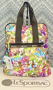 NWT Lesportsac Everyday Backpack Sweet Wahine Bag 8240 K168 Hawaii Exclusive
