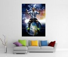 Lionel MESSI Barcellona Giant Wall Art XL PICTURE STAMPA FOTO POSTER J97