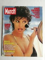 N1185 Magazine Paris-Match N°1702 8 janvier 1982 Raquel Welch, Broadway