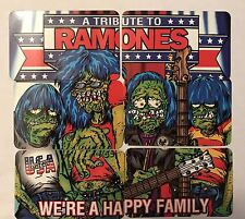 RARE Set of Ramones Promo Download Cards For Album We A Happy Family 2003 Punk