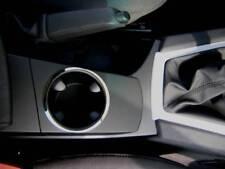 D BMW X3 E83 Chrom Rahmen für Getränkehalter in der Mittelkonsole - Edelstahl