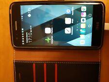 Cellulare LG K8 2016 nero + custodia a libro in pelle