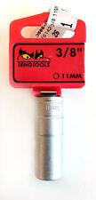 TENG TOOLS m380611-c with 1cm DRIVE 35860253 VASO LARGO HEXAGONAL 11mm