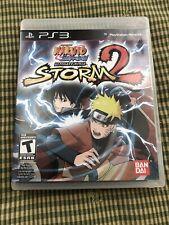 Naruto Shippuden: Ultimate Ninja Storm 2 - PS3 - CIB - FAST SHIPPING