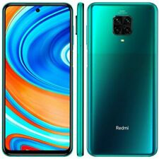 UNLOCKED New Xiaomi Redmi Note 9 Dual SIM 128GB 4GB RAM 4G LTE Smartphone Green