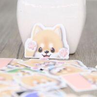 Cute Shiba Inu Emotion Scrapbooking Notebook Animal Stickers DIY for Girl Lady