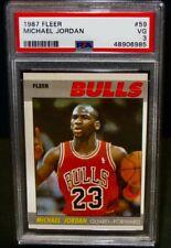 Psa 3 Vg 1987 Fleer Michael Jordan Basketball Card #59 Chicago Bulls