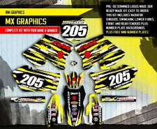 2001-2012 RM 125 250 GRAPHICS RM125 RM250 SUZUKI MOTOCROSS DIRT BIKE MX DECALS