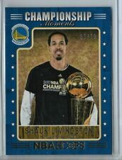 2017/18 PANINI HOOPS NBA CHAMPIONSHIP MOMENTS SHAUN LIVINGSTON 30/99 WARRIORS
