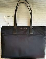New Marc Jacobs Wingman Large Nylon Tote Shopper Bag Black MSRP 225!