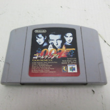 Nintendo 64 GoldenEye 007 First Person shooter game Japan USED free shipping