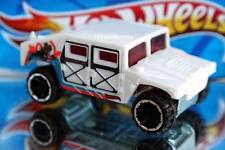 2014 Hot Wheels Monster Mission Exclusive Humvee chrome rims