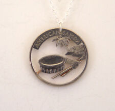 American Samoa - Cut-Out Coin Jewelry, Necklace/Pendant