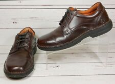 Streetcars Sedona Oxford Brown Leather ASC Mens Size 9 M Lace Up Shoes