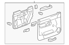 Genuine GM Panel Asm-Frt S/D Tr  Ebony 22818465
