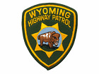 US Wyoming Highway Patrol Police Patch 3