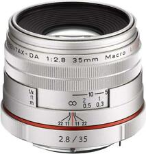 RICOH Camera Lens HD PENTAX-DA 35mm F2.8 Macro Limited Silver 21460 EMS W/T