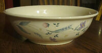 Pfaltzgraff April Floral Flowers Serving Mixing Veggie Salad Pasta Bowl 10 1/2""