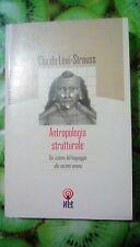 ANTROPOLOGIA STRUTTURALE Lévi-Strauss NET 2002 Linguaggio Società Umana ed. Rara