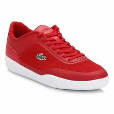 Lacoste Tramline 216 1 SPM Red Textile/Synthetic Men's Shoes Size 12 New w/ Box