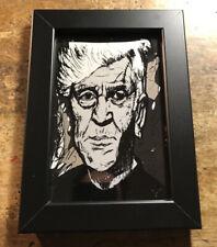 New listing David Lynch Pop Art Print Framed 4x6 Twin Peaks Dune Mulholland Blue Velvet Film