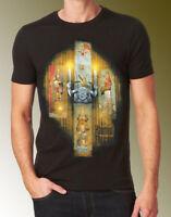 Disney Parks Haunted Mansion Black T-Shirt-Ghostly-Sizes Small-Medium-Large-XL