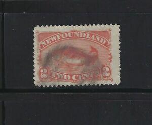 NEWFOUNDLAND - #48 - 2c CODFISH USED STAMP
