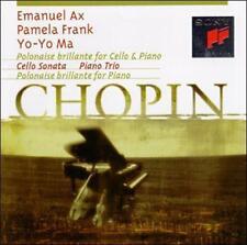 Chopin: Polonaise brilliante; Cello Sonata; Piano Trio (CD, SBM, Sony) Ax, Ma