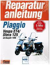 Reparaturanleitung Buch Piaggio Vespa ET4 / Sfera 125 ab Bj. 1996 Band 5209
