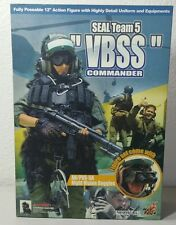 HOT TOYS 1/6 SEAL Team 5 VBSS Commander figure comes w/AN/PVS-5A NVG'S