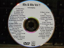 80's & 90's VOL 1 MUSIC VIDEO DVD MADONNA WHAM CAMEO BILLY IDOL DIVINE KISS INXS