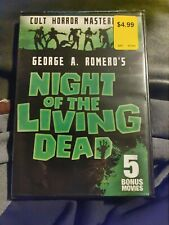 Night of the living dead (Dvd) +5 Bonus Movies.Brand New & Sealed!