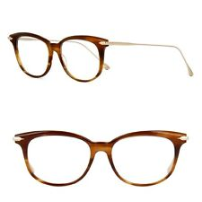 1e872dc05744 DITA CHIC women s Eyeglasses Cats Eye DRX3035 B Brown w  Gold 18Kt  Authentic New