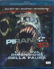 PIRANHA 3D (2D+3D ACTIVE+3D ANAGLYPH) - BLU-RAY (NUOVO SIGILLATO)