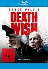 Death Wish 2017 - Bruce Willis, Vincent D'Onofrio - Blu Ray - FSK 18 (x)