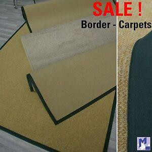 SALE ! Landhaus Teppich mit Bordüre, Restposten versch. Farben u. Größen