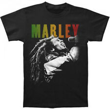 BOB MARLEY - Singing T-shirt - NEW - SMALL ONLY