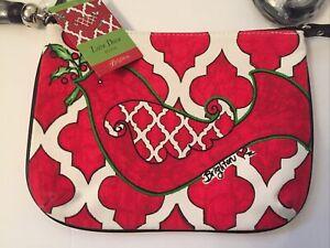 BRIGHTON LOVE DOVE POUCH Cross Body Canvas Purse NEW W/ Tags~$70.