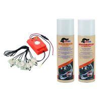 MARDERfix Hochspannung Akustik 12V inklusive Vorreiniger und Marder Abwehrspray